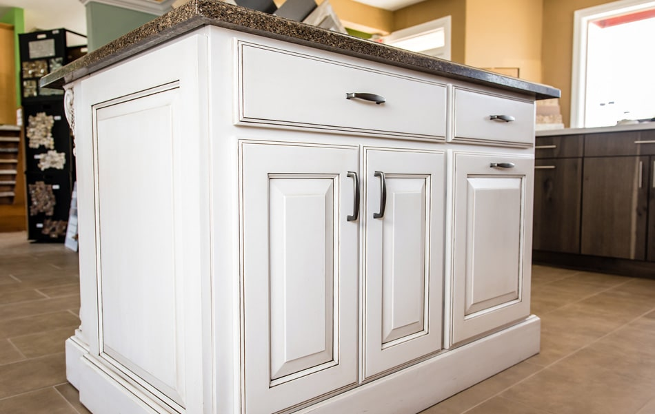 Custom Kitchen Cabinet Island